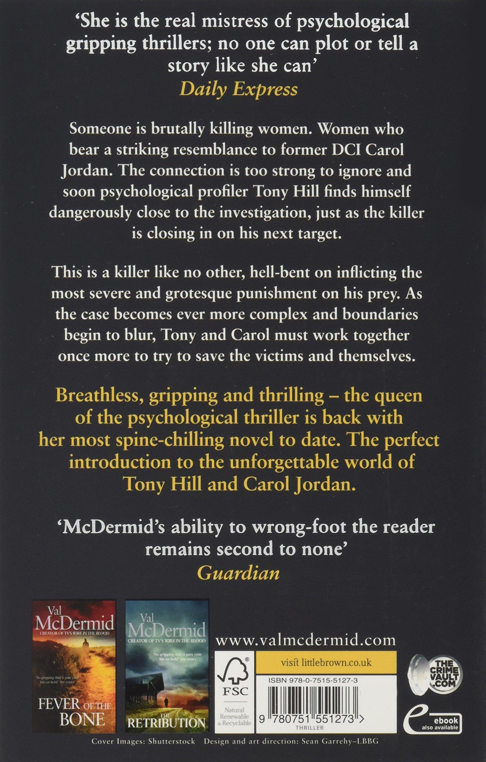 Cross and Burn: (Tony Hill and Carol Jordan, Book 8): Val McDermid ...