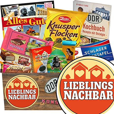 Lieblingsnachbar Ddr Schokolade Geschenk Nachbarn Richtfest