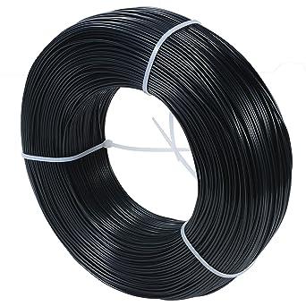 PLA 0.8kg 1.75mm negro MasterSpool-recarga - filamento para ...