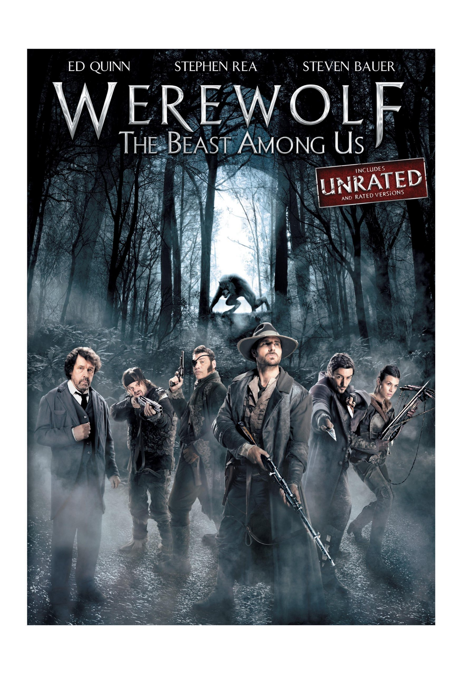 DVD : Werewolf: The Beast Among Us (Dubbed, AC-3, Dolby, Snap Case, Unrated Version)