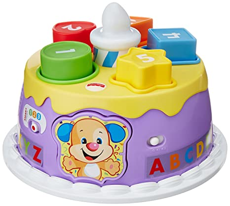 Buy Fisher Price Laugh And Learn Smart Stages Magical Lights Birthday Cake Multi Color Online At Low Prices In India