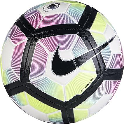 Nike Strike-PL Balón, Unisex Adulto, Blanco/Blue/Negro, 5: Amazon ...