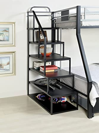 Amazon Com Furniture Of America Metal Bunk Bed Side Ladder
