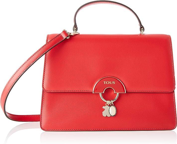 nueva llegada diversos estilos estilo moderno Tous City Hold - Bolso Bandolera para Mujer, rojo, 27 x 18 x 9.5 cm