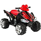 Best Choice Products Kids ATV Quad 4 Wheeler Ride On with 12V Battery Power Electric Power LED Lights & Music