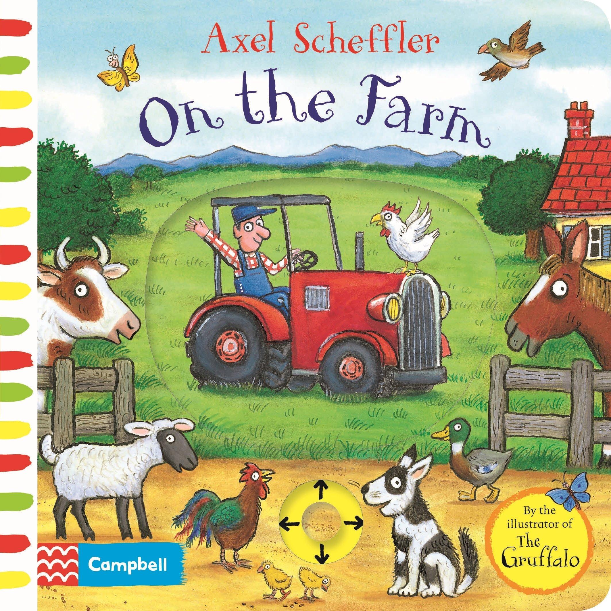 axel scheffler on the farm amazon co uk axel scheffler books