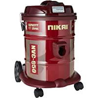 Vacuum cleaner large wheels easy to use
