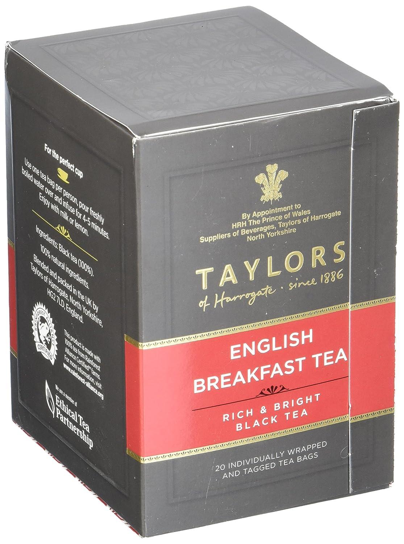 Taylors of Harrogate English Breakfast, 20 Teabags