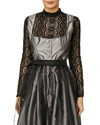 20ce3c6962bd Bluse, Dirndlbluse, Kann auch ohne Dirndl getragen werden, schwarz, Gr. M