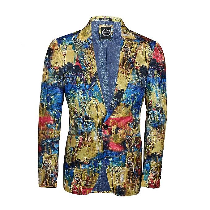 Xposed Chaqueta de traje - para hombre Multicolor multicolor ...