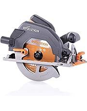 Evolution Power Tools R185CCS Multi-Material Circular Saw, 1600 W, 230 V - Domestic