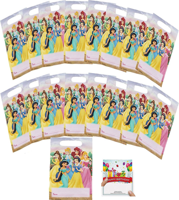 Amazon.com: Princess Party Supplies Bolsas de regalo de ...
