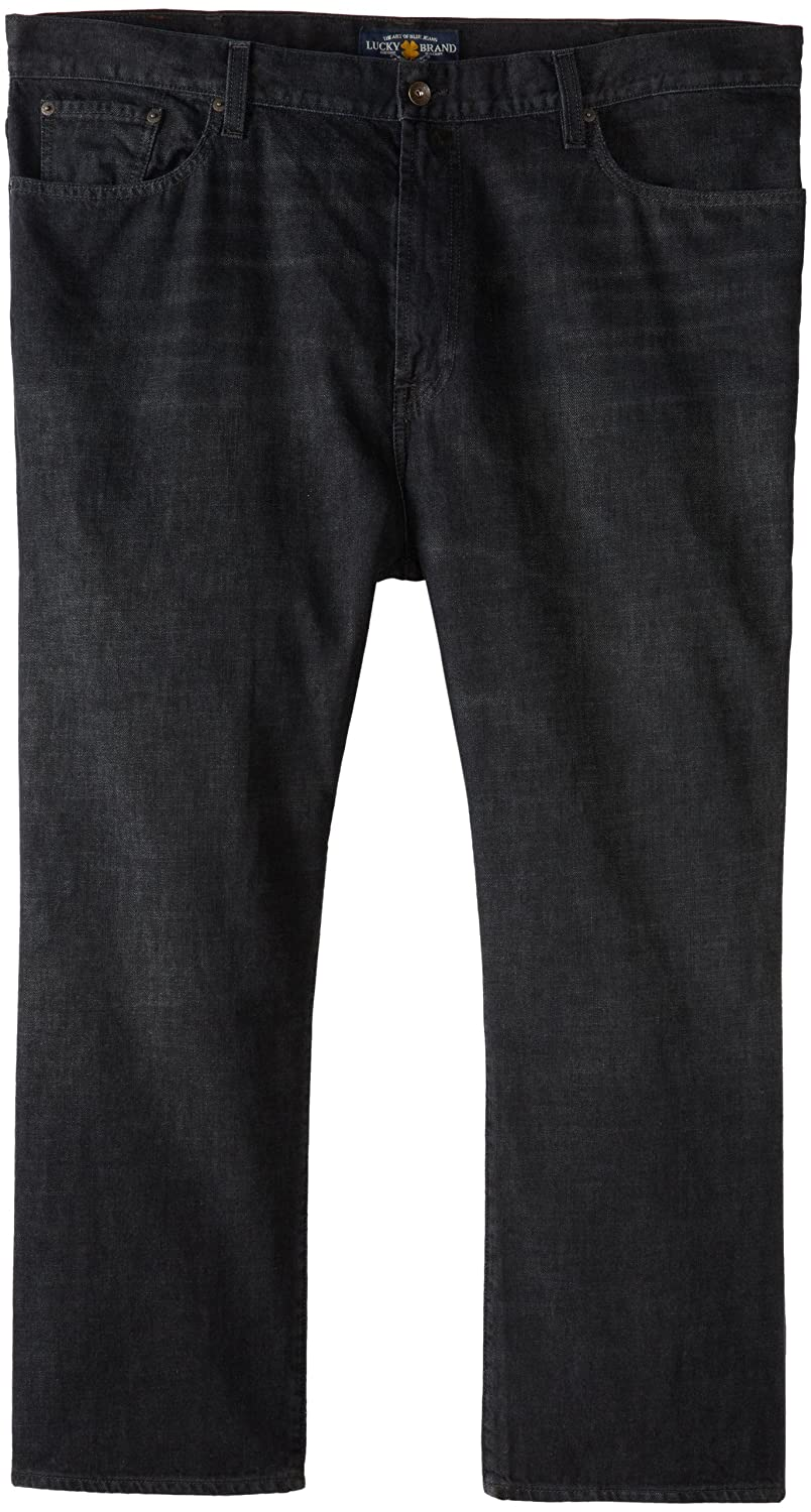 928ff460c53013 Dark Dark Dark Williamson Lucky Brand Men's Big and Tall 181 Relaxed  Straight in Dark Williamson a36dfd