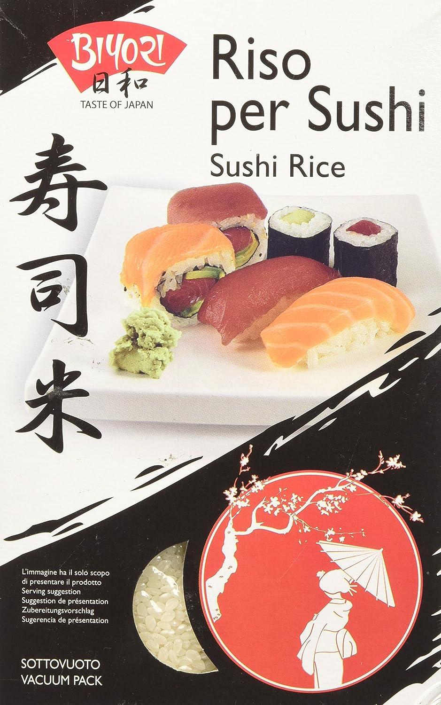 Biyori arroz per Sushi - 1000 gr: Amazon.es: Alimentación y bebidas
