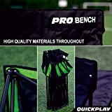 QuickPlay PRO Folding Bench - 6 Seats - New 2019
