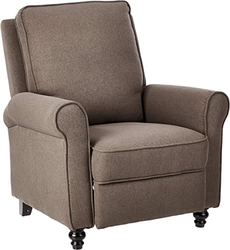 JC Home Arm Push recliner, one size, Brown