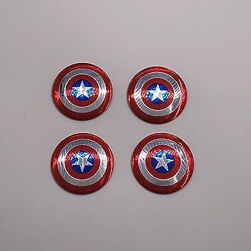 Amazon.com: Adhesivo para tapacubos con insignia de Capitán ...