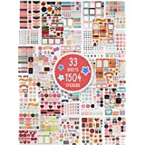 Aesthetic Planner Stickers - 1500+ Stunning Design Accessories Enhance and Simplify Your Planner, Journal and Calendar