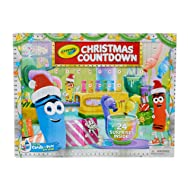 Crayola Christmas Countdown Calendar, Kids Advent Calendar, 24 Holiday Crafts, Gift