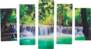 Pure Decorative MDF Painting, 5 Pieces - 110x60 cm