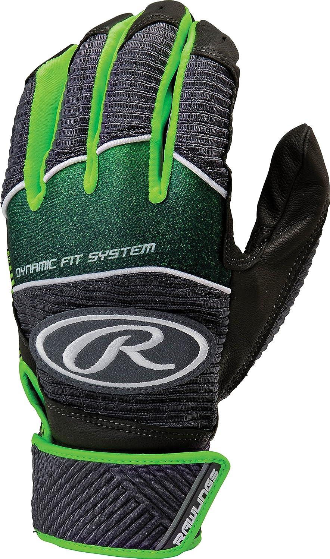 Rawlings Workhorse 950シリーズユースバッティング手袋 B01HH3LT3Y Large|ライムグリーン ライムグリーン Large