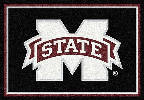 American Floor Mats Mississippi State Bulldogs NCAA College Team Spirit Team Area Rug 3 10 x5 4