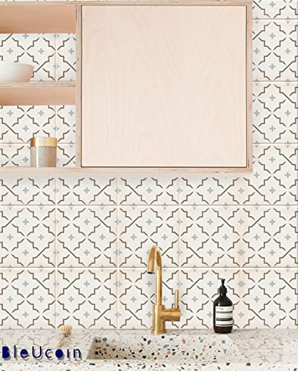 amazon com cannes tile stickers for kitchen and bathroom backsplash
