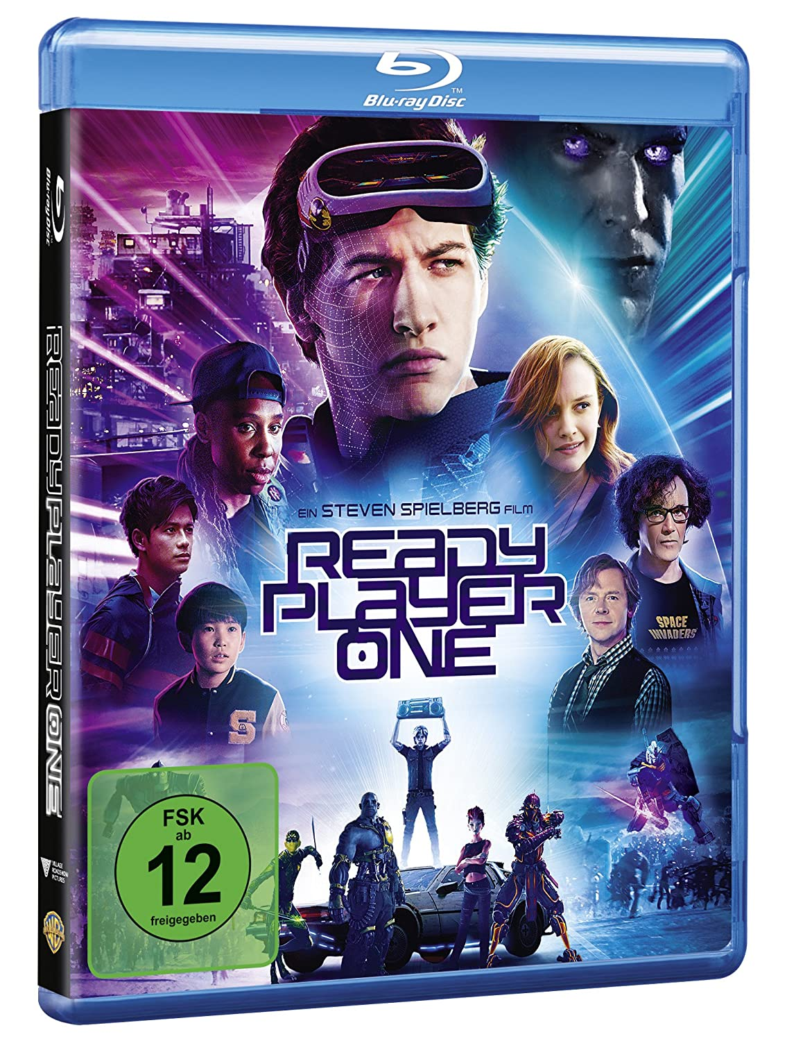 Ready Player One Movie Blu Ray Movies Tv