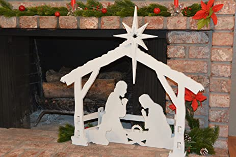 Small Indoor Christmas Nativity Set By MyNativity 3 Outdoor Scene Sizes Also Available