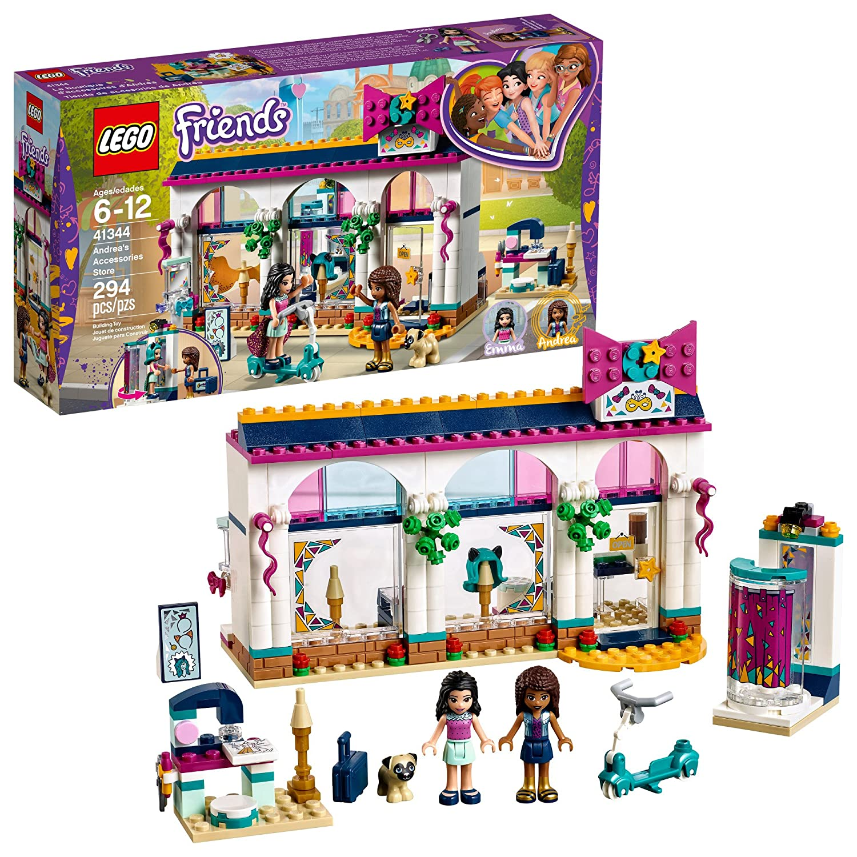 Amazoncom Lego Friends Andreas Accessories Store 41344 Building