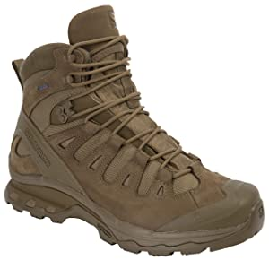 Salomon Men's Quest 4D 2 GTX Lightweight & Durable Leather / Canvas Hiking Boot