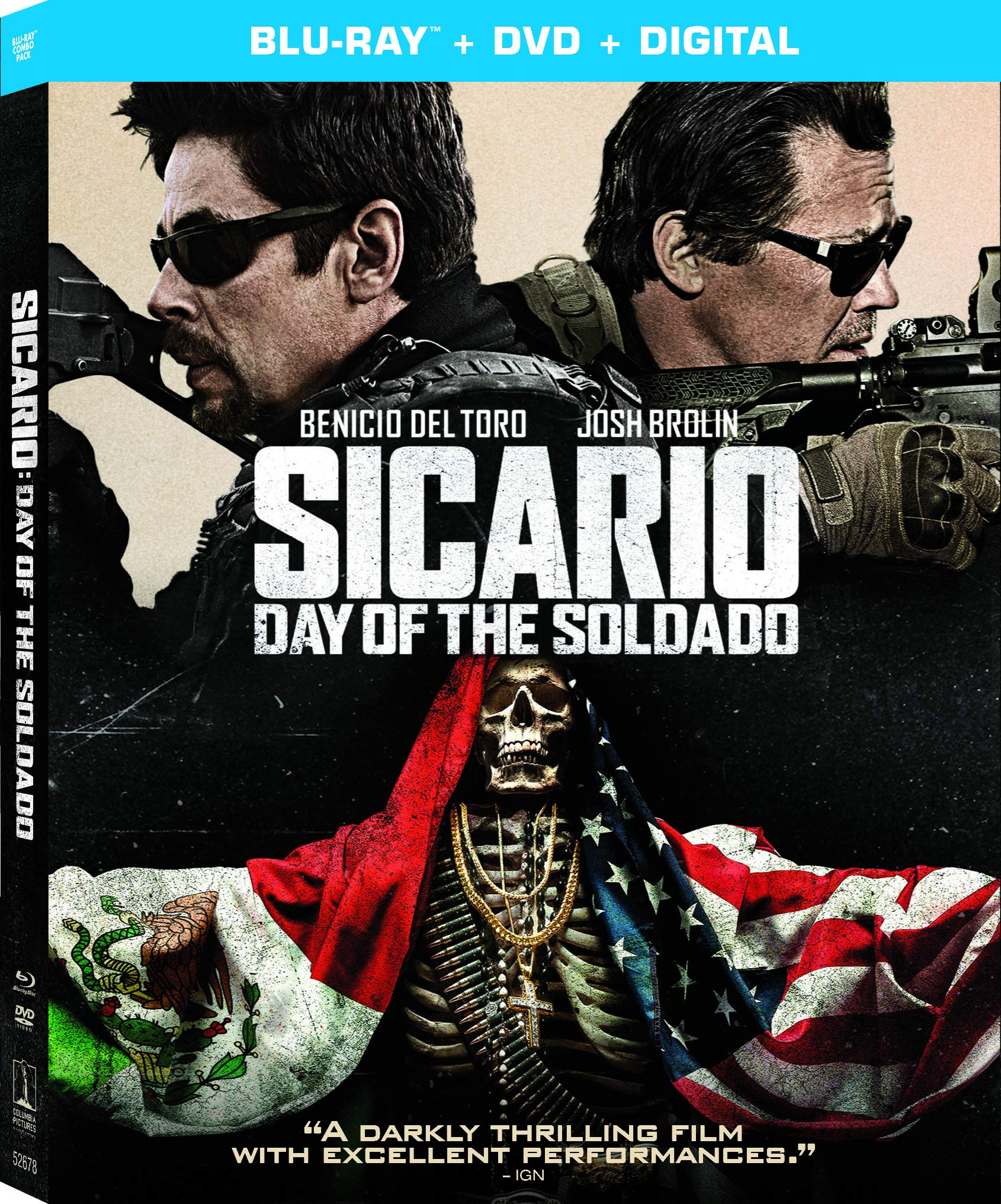 Blu-ray : Sicario: Day Of The Soldado (With DVD, Digital Copy, 2 Pack, Dubbed, Subtitled)