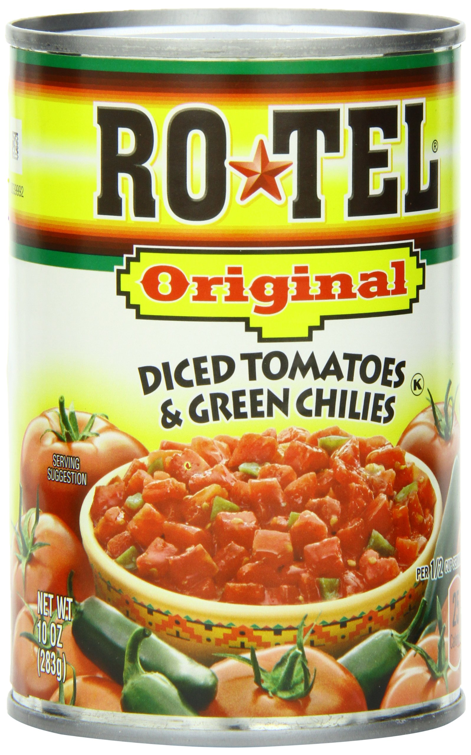Rotel Diced Tomato With Green Chilis, 10-Ounce Units (Pack of 24) by Ro-Tel