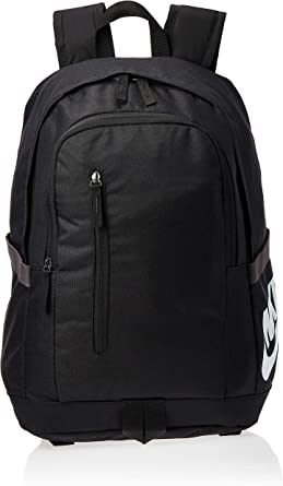 doce Credencial Flotar  Amazon.com: NIKE ALL ACCESS SOLEDAY BACKPACK (Black/White): Clothing