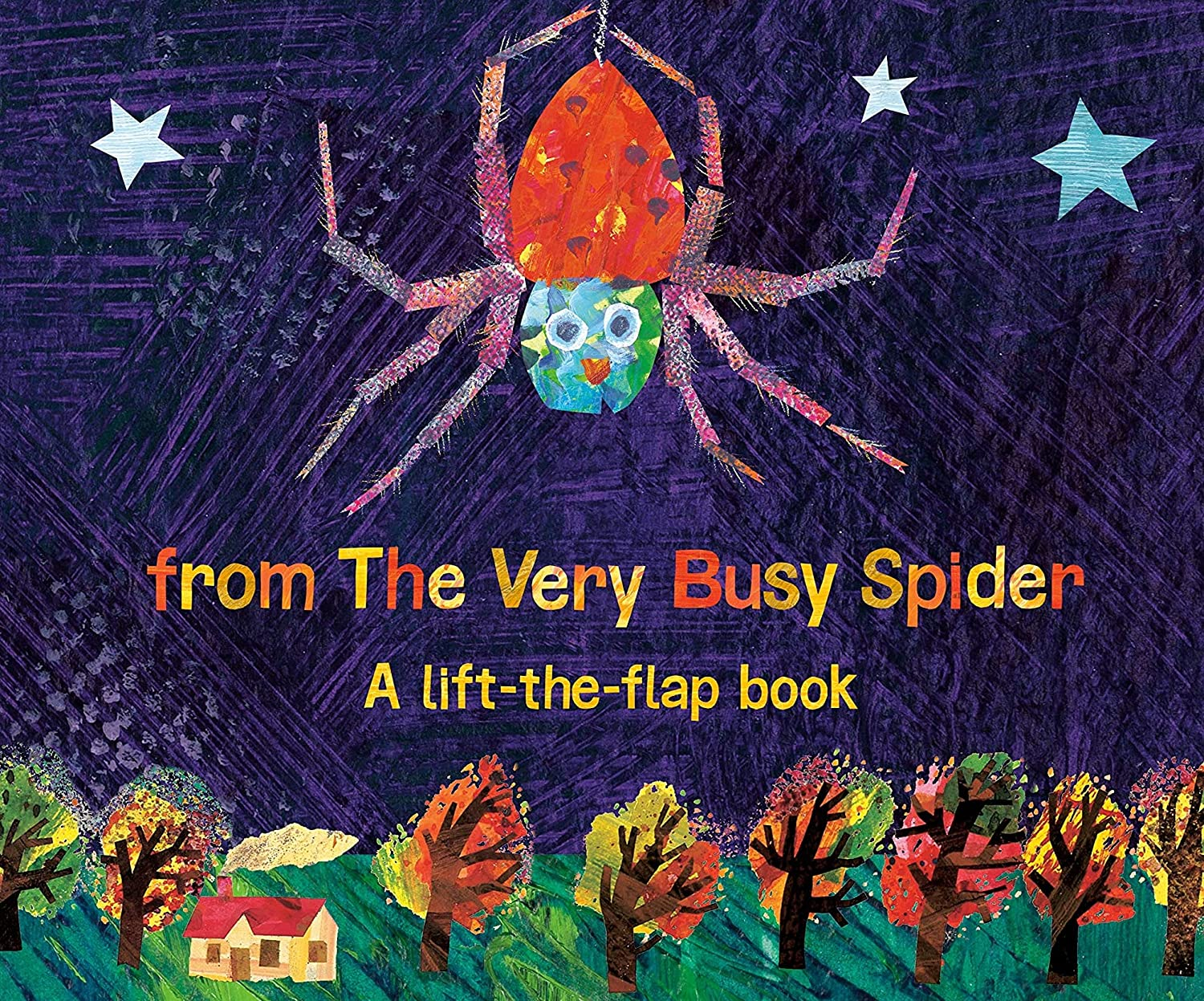 Happy Halloween from The Very Busy Spider: A Lift-the-Flap Book (The World of Eric Carle)