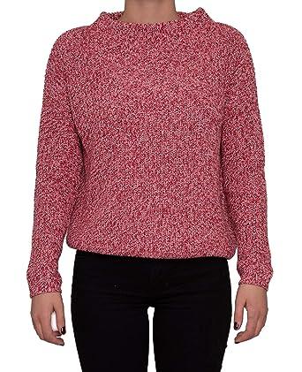 new product 815ef bdf79 OPUS, Damen Pullover, Parto Mouline, Strick, rot-rosa, 36 ...