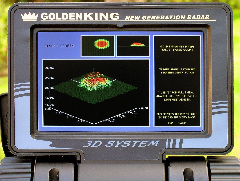 Amazon.com : Nokta Golden King NGR Basic Professional Deep Seeking Metal Detector : Garden & Outdoor