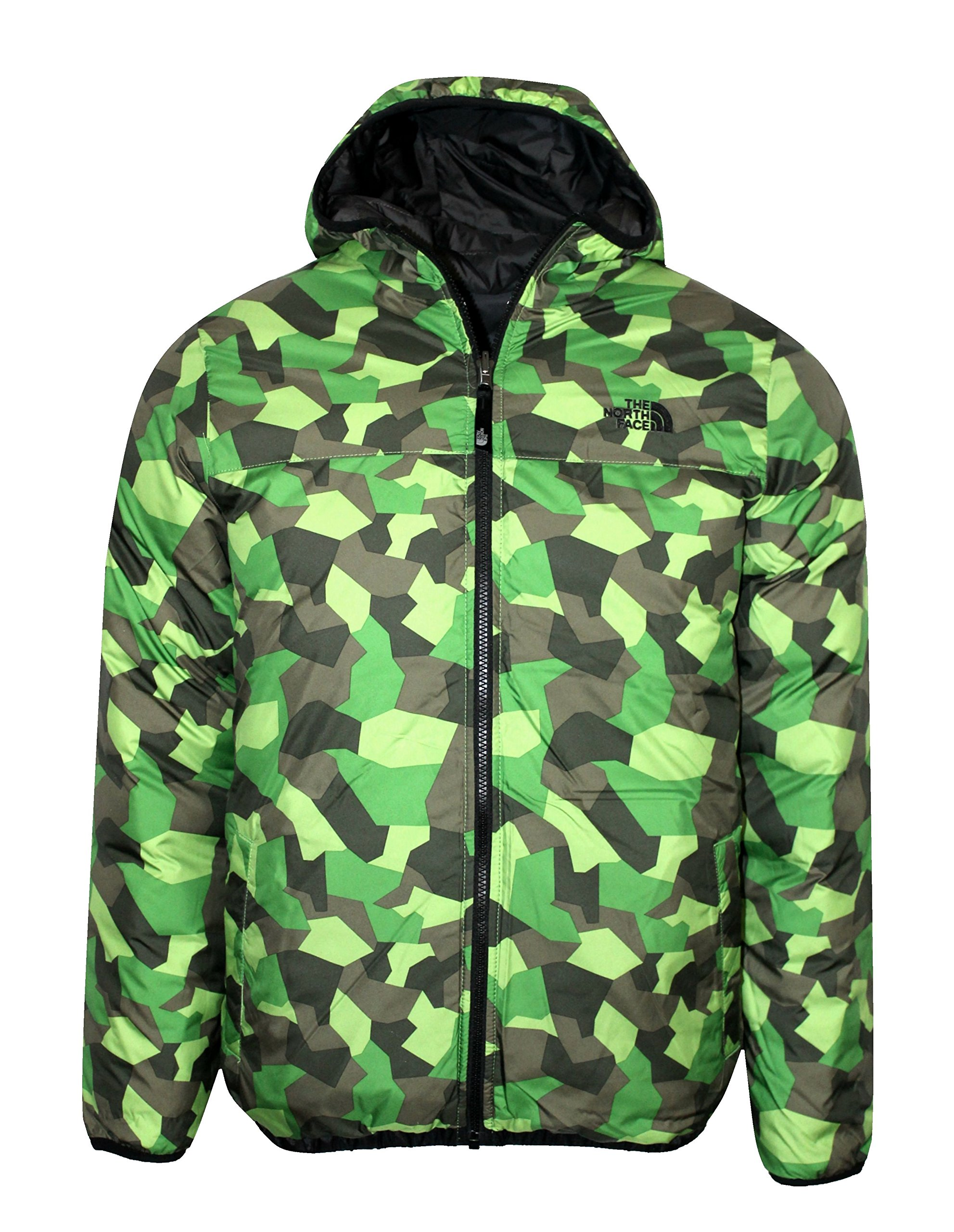 THE NORTH FACE youth boys REESE DOWN REVERSIBLE hooded JACKET (MEDIUM) by The North Face (Image #2)