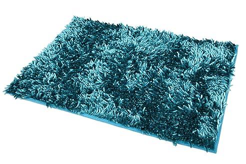 Badematten Türkis 50x70 türkis petrol malachit cyanblau badteppich badeteppich