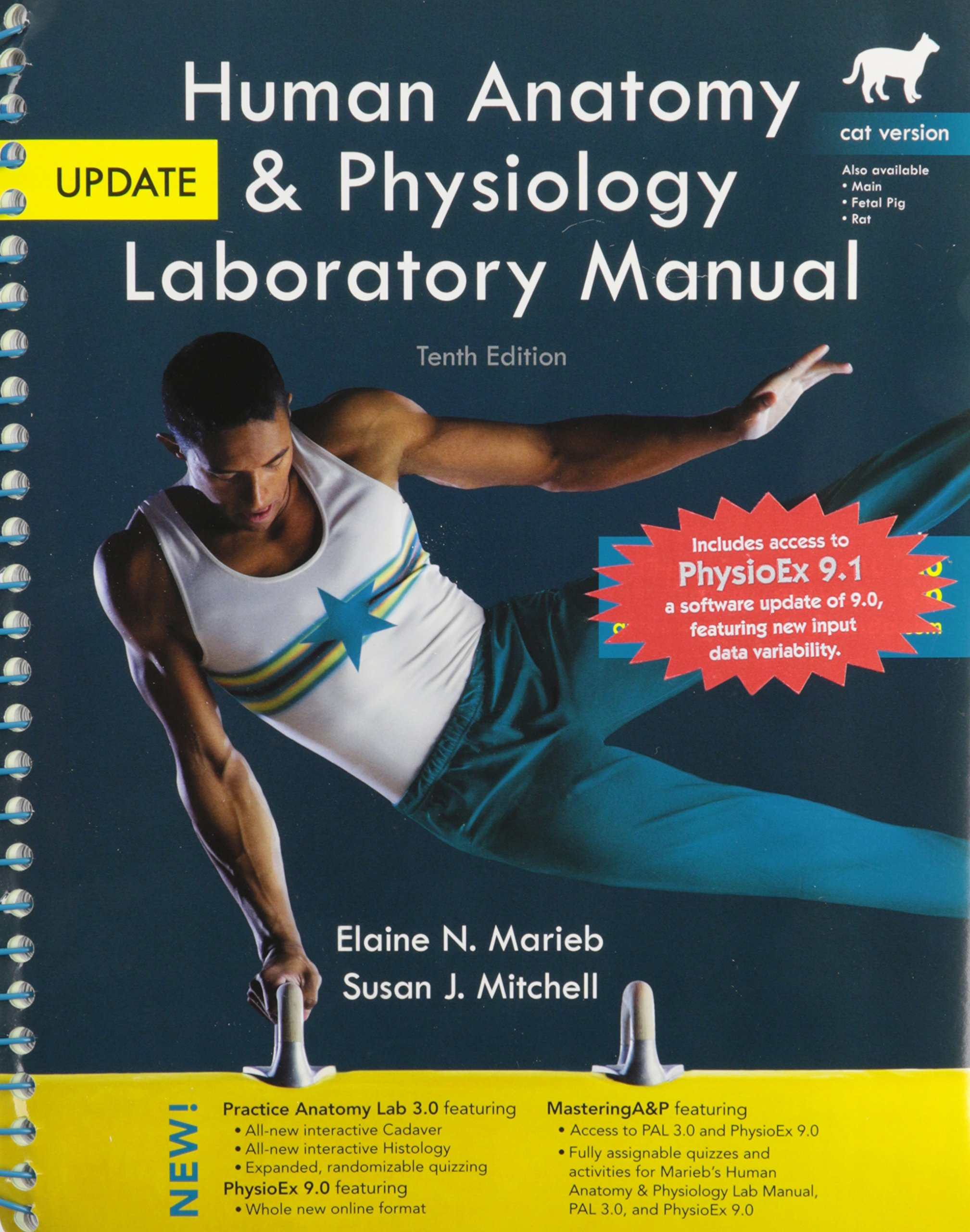 Buy Fundamentals of Anatomy & Physiology + MasteringA&P with Pearson eText  + Get Ready for A&P + Human Anatomy & Physiology Laboratory Manual, Cat .