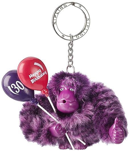 1dd25322554 Kipling - Happy 30, Llaveros Mujer, Violett (Happy Purple), 9x9.5x4 ...