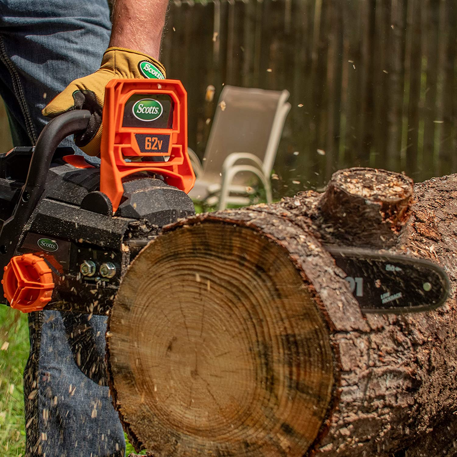 Scotts Outdoor Power Tools LCS31662S Chainsaws product image 6