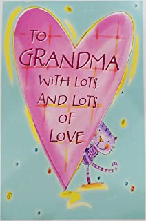 Amazon its grandparents day enjoy your special day greeting grandparents day greeting card to grandma with lots and lots of love xoxo grandmother m4hsunfo