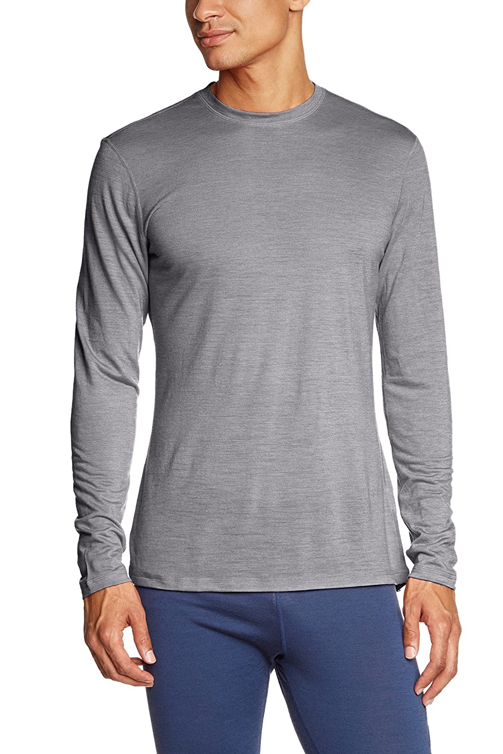 super natural Herren Funktionsshirt Langarm M Base Long Sleeve 140