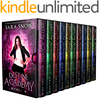 Destine Academy Books 1-10 Boxed Set: The Complete Series