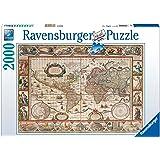 Ravensburger Italy Puzzle 2000 Pezzi Mappamondo 1650, Multicolore, 878531