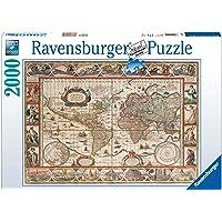 Ravensburger (166336) 2000 Parça Puzzle 1650 Yılı Dünya Har