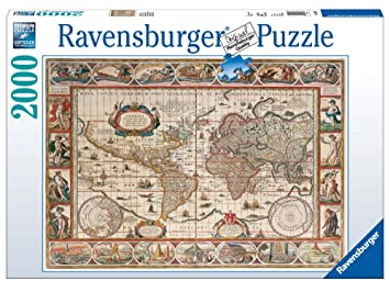 Ravensburger Map Of The World From 1650 2000pc Jigsaw Puzzle