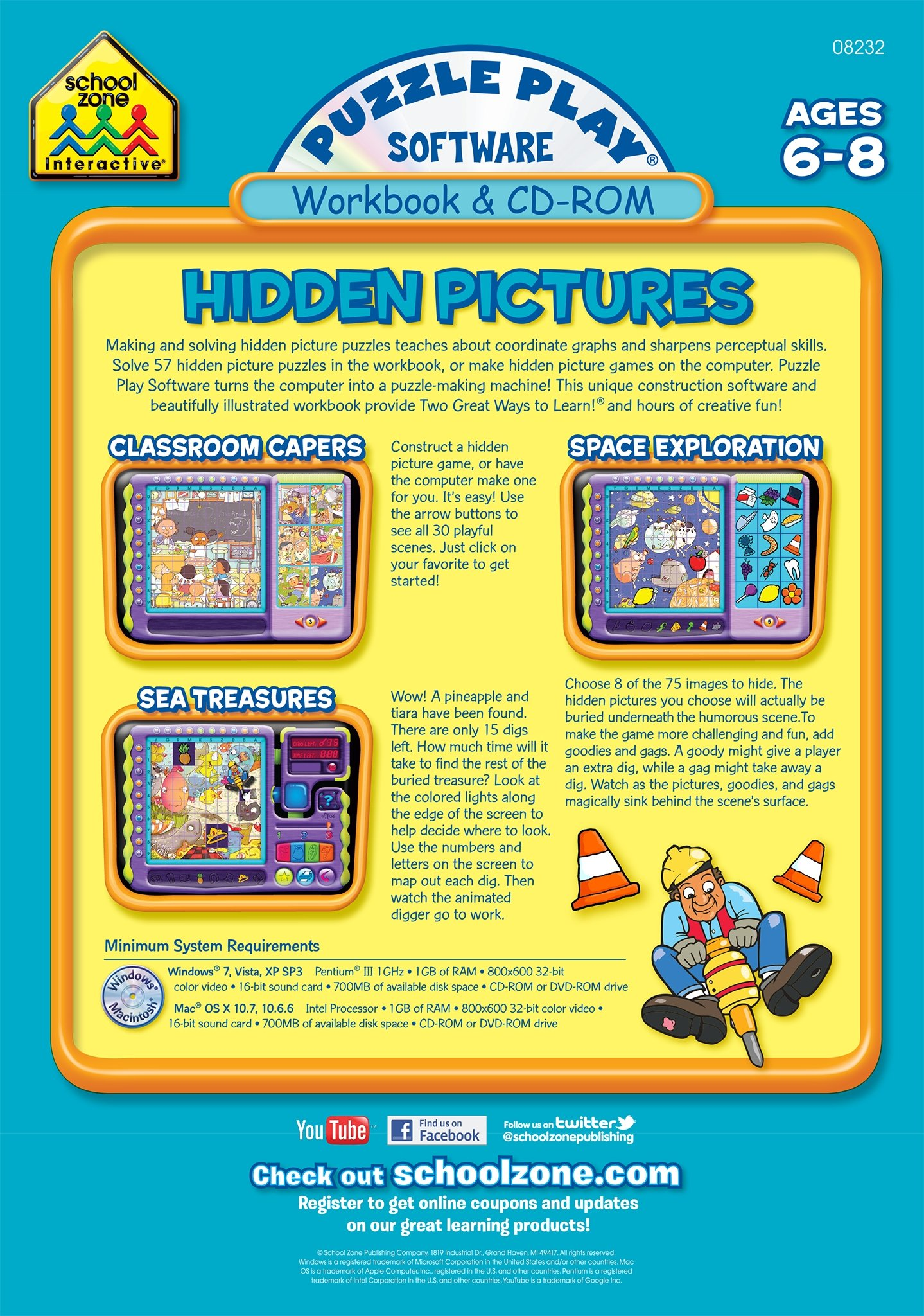 Puzzle Play Hidden Pictures Software - Livros na Amazon