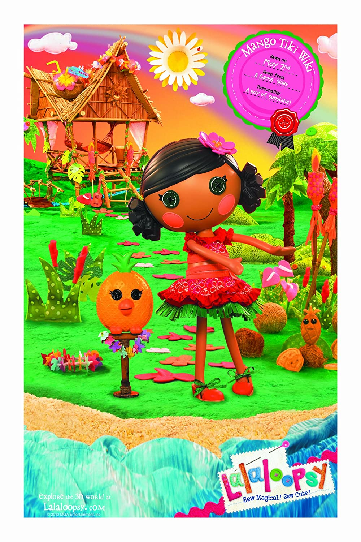 amazon com lalaloopsy mango tiki wiki toys u0026 games